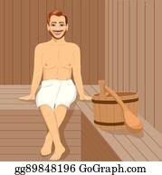 Sauna Clip Art.
