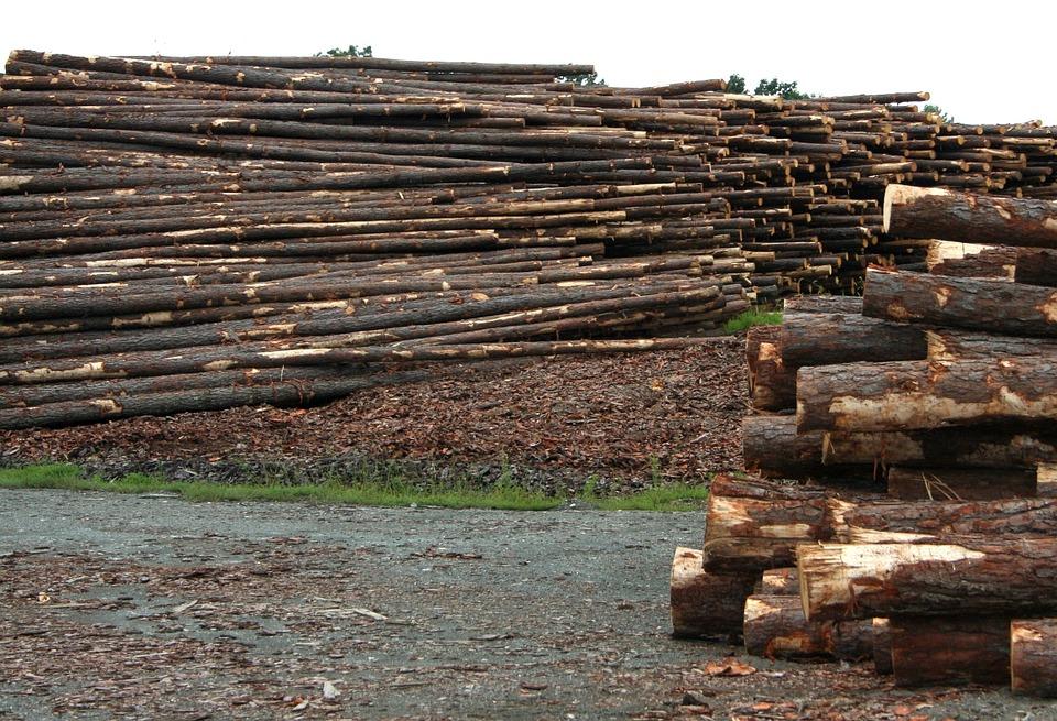 Free photo Sawmill Smokestack Smoke Chimney Lumber Sawmill.
