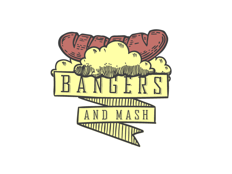 Bangers and Mash by Gary Robinson on Dribbble.