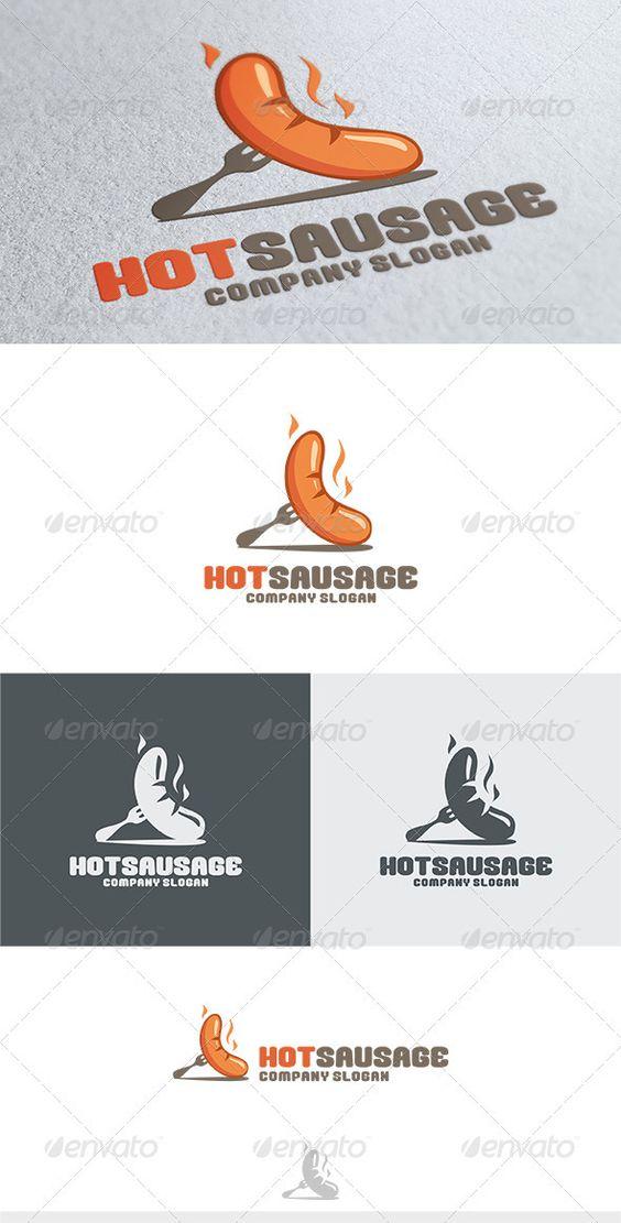 Hot Sausage Logo.