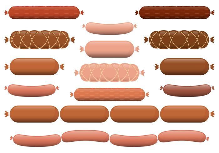 Sausage Vectors.