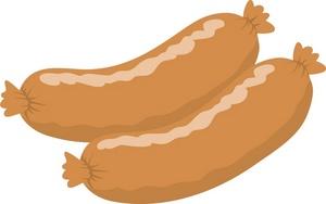 Free Sausage Clipart Image 0071.