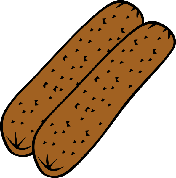 Breakfast Sausage Clipart.