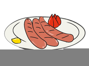 German Sausage Clipart.
