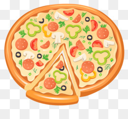 Sausage Pizza PNG.