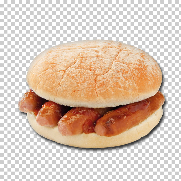 Sausage sandwich Bacon sandwich Breakfast roll Toast.