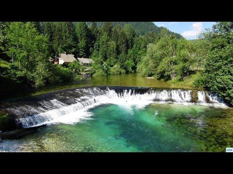 Fliegenfischen in der Sava Bohinjka und Radovna in Slowenien im.