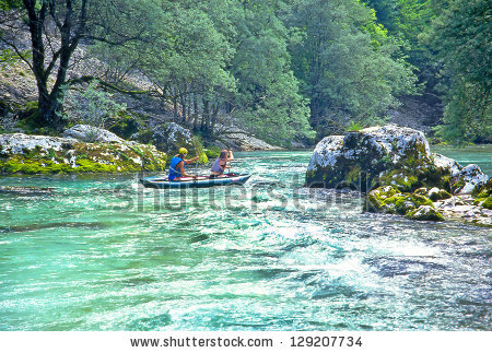 Sava Bohinjka River Stock Photos, Images, & Pictures.