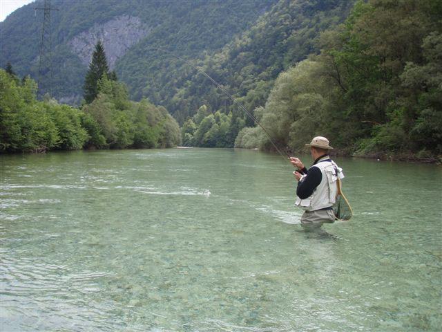 Slovenia Fly Fishing, Sava Bohinjka.