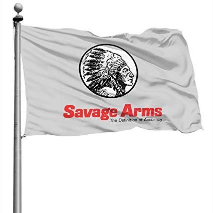 Amazon.com : Savage Arm Logo 4x6 Ft Home Flags, Decor Garden.