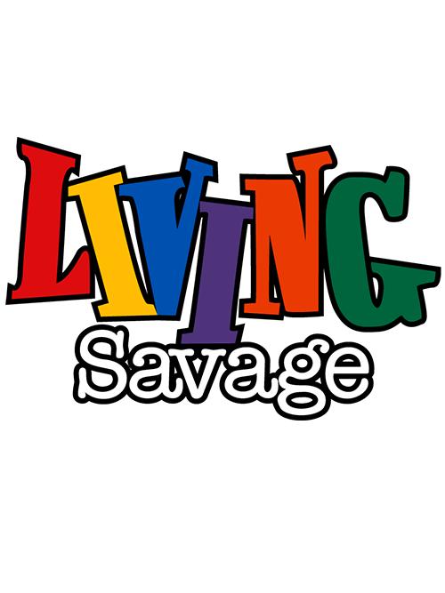 Living Savage SVG & PNG.