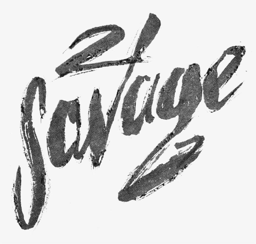 21 Savage Logo Transparent.