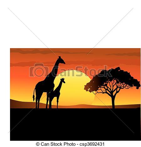 Savanna Vector Clipart EPS Images. 2,358 Savanna clip art vector.