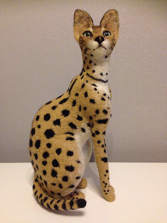 Serval Cat Clipart.