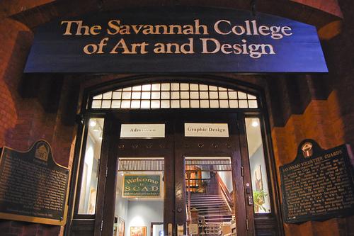 SAVANNAH COLLEGE OF ART AND DESIGN.