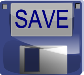 Save Button PNG, SVG Clip art for Web.