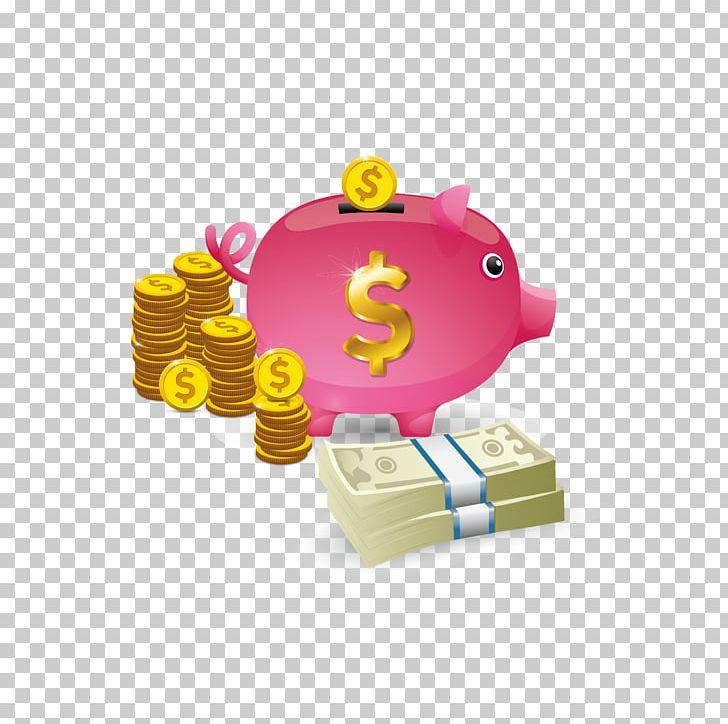 Piggy Bank Coin PNG, Clipart, Adobe Illustrator, Bank, Coin.
