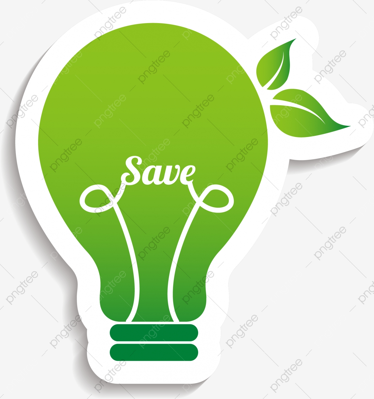 Green Paper Bulb Pattern, Green Light Bulb, Paper Bulb, Save.