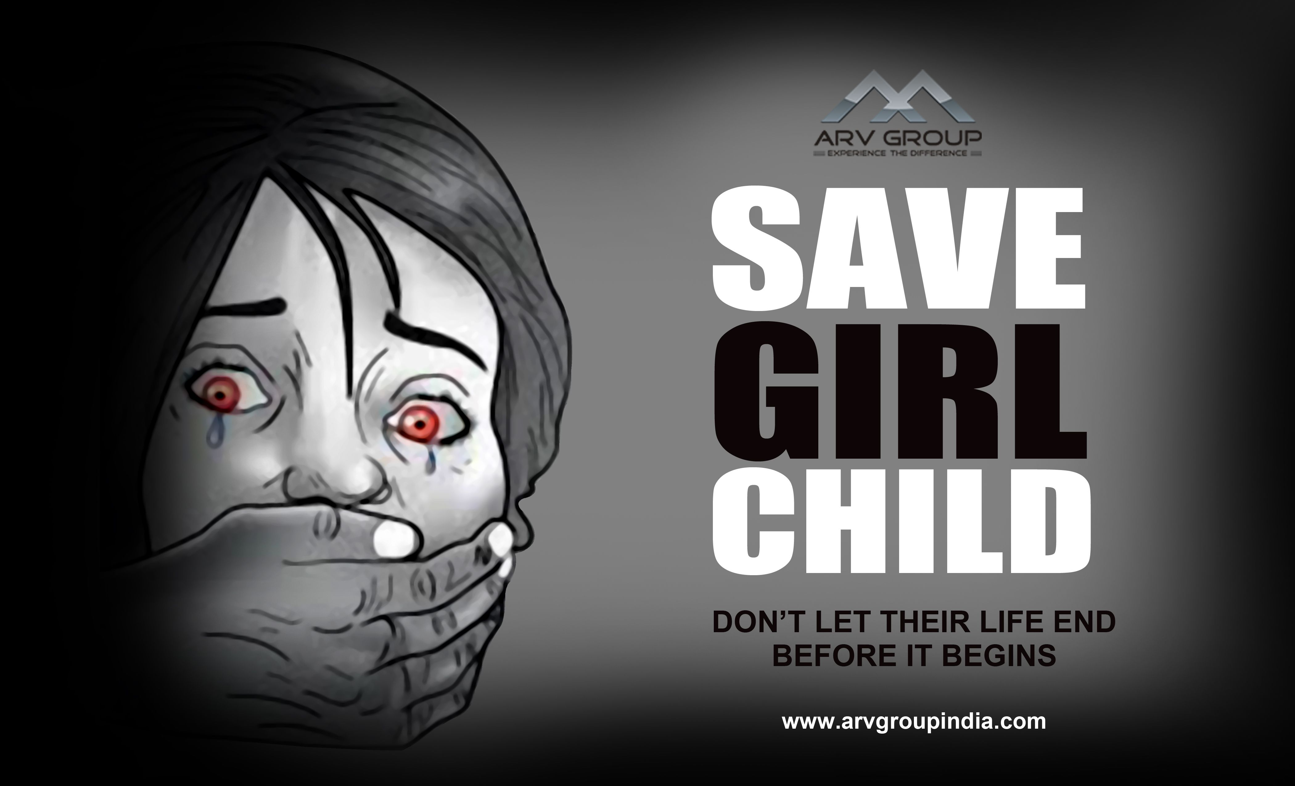 Care about them #Save #Girl #Child.
