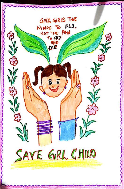 Save Girl Child.