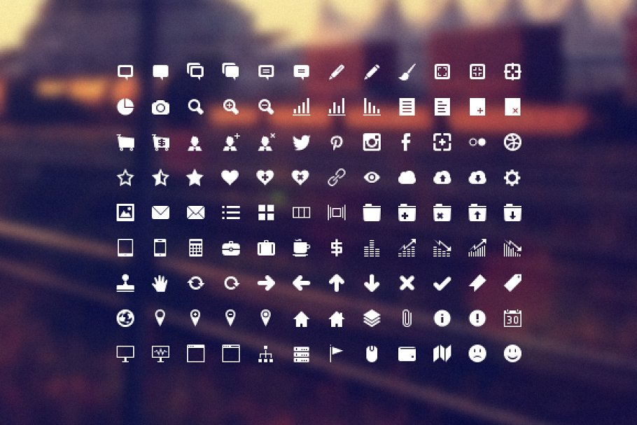 Developer Icon Set ~ Icons ~ Creative Market.