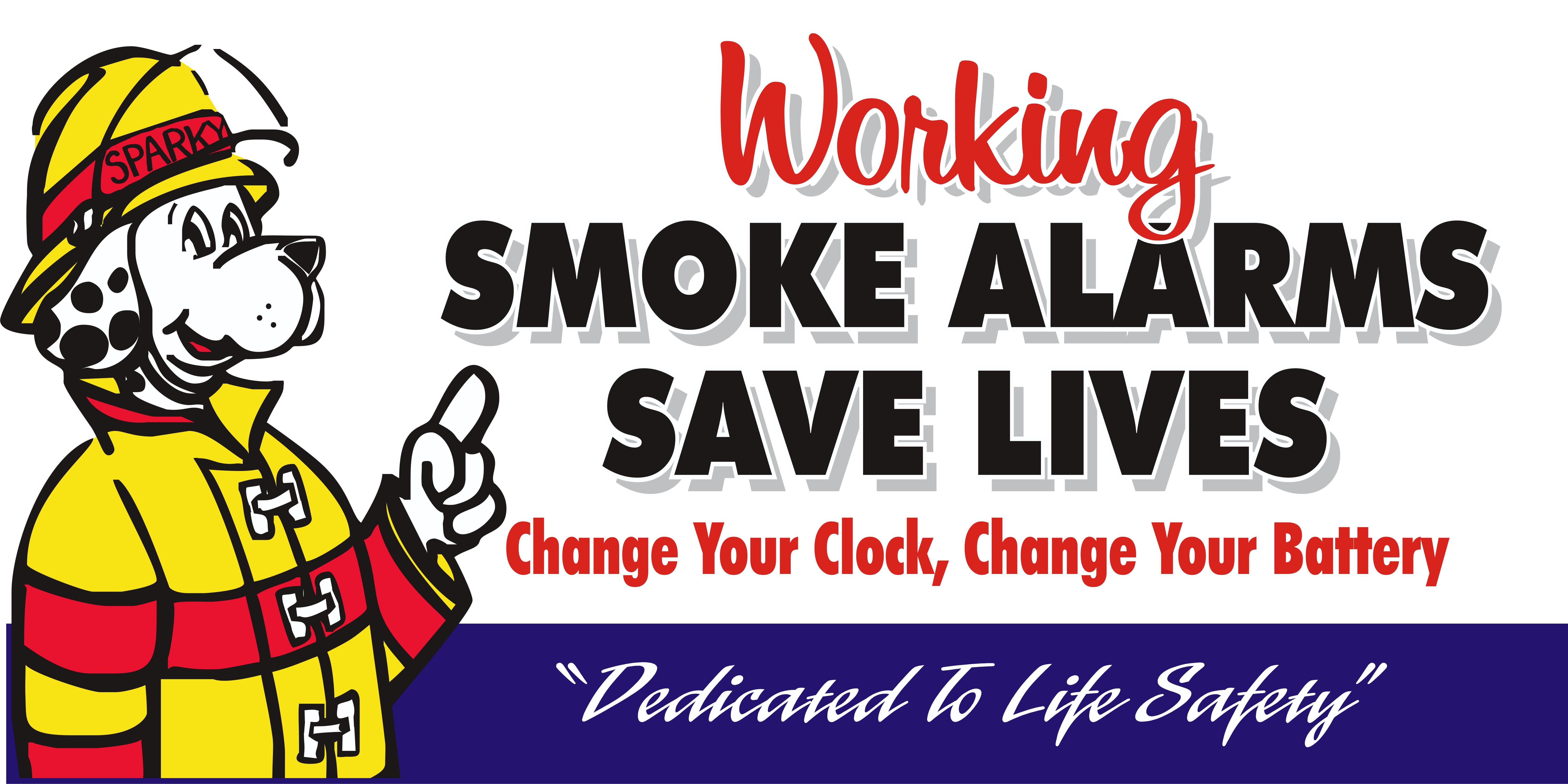 SMOKE ALARMS SAVE LIVES.