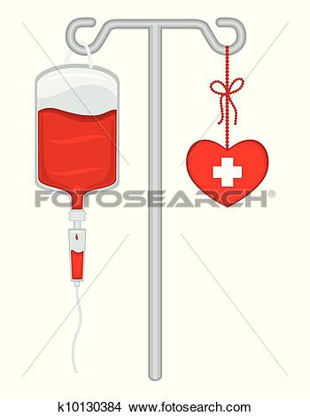 Clipart of Give Blood.