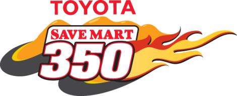 Toyota Save Mart 350 Logo.