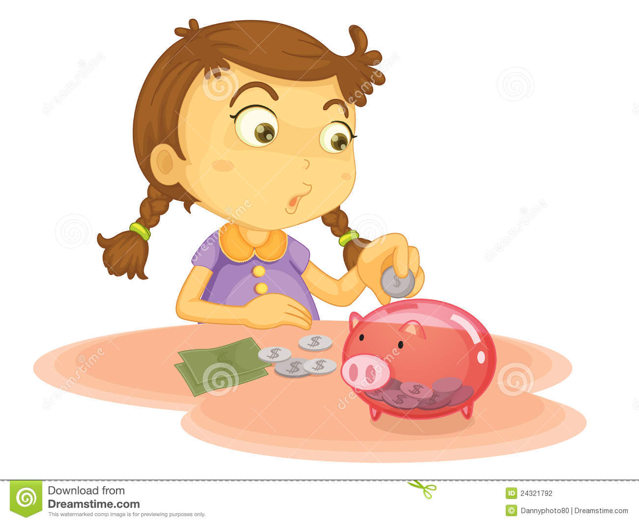 Saving Money Clipart.