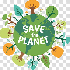 Save The Planet PNG clipart images free download.