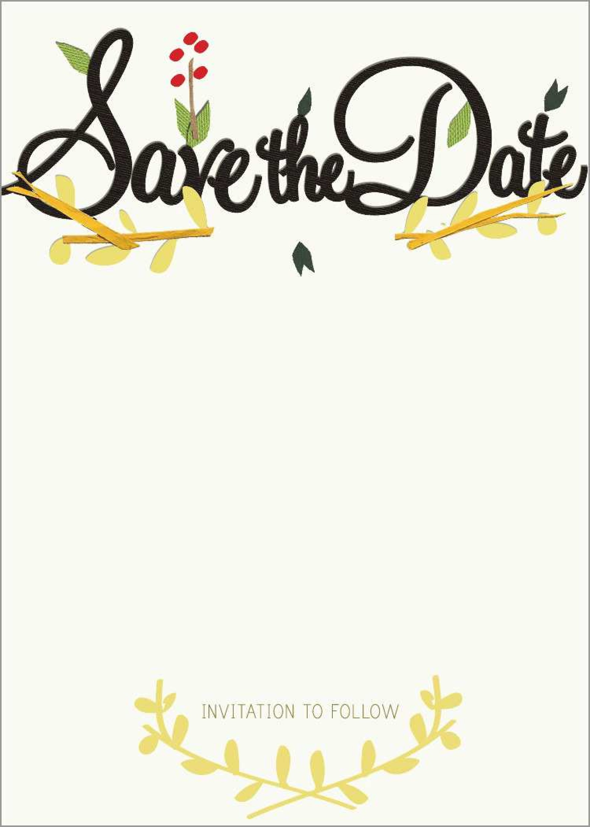 020 Template Ideas Wedding Save The Dates Combo Spring2019.