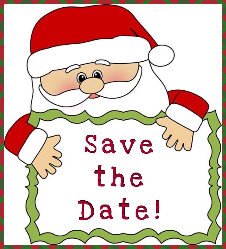 Christmas save the date Usborne facebook party.