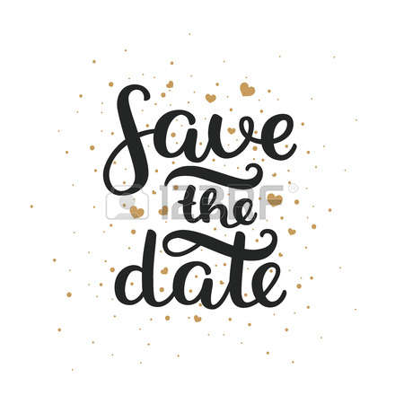 Save The Date Clipart Wedding.