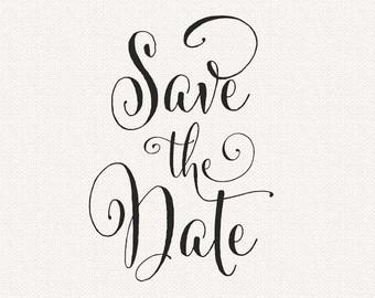 Save The Date Clip Art Tumundografico.