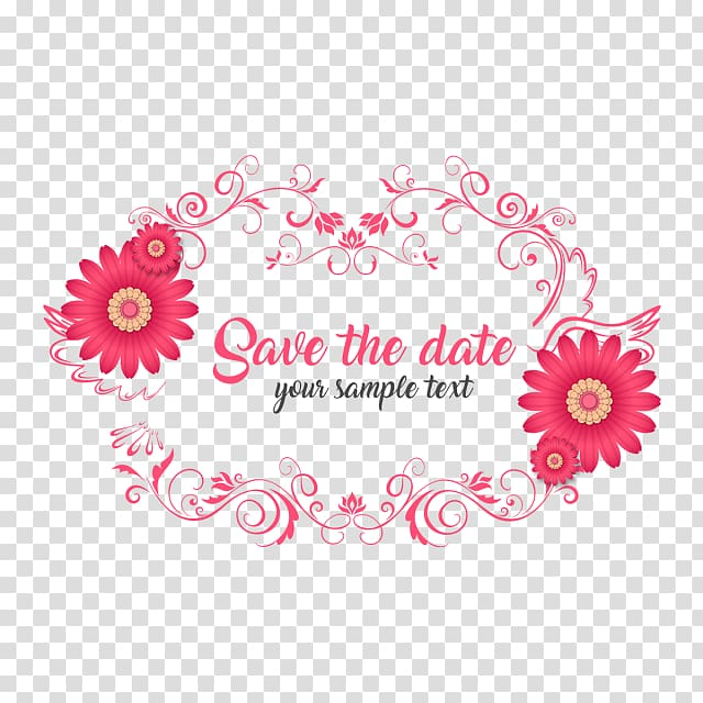 Floral design Wedding invitation Save the date, wedding.