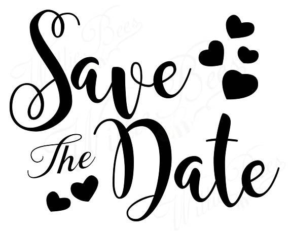Save The Date SVG, Wedding SVG, Engagement Overlay, Wedding.