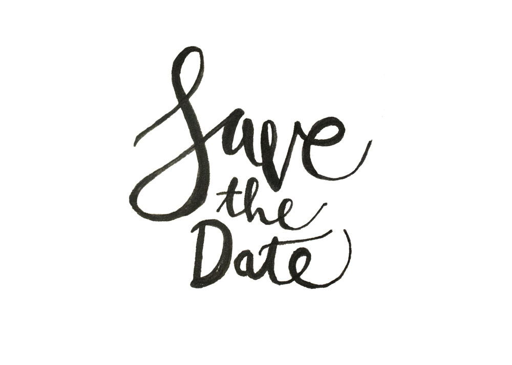 How to Hand Letter Your Own Save the Dates ~ Creative Market.