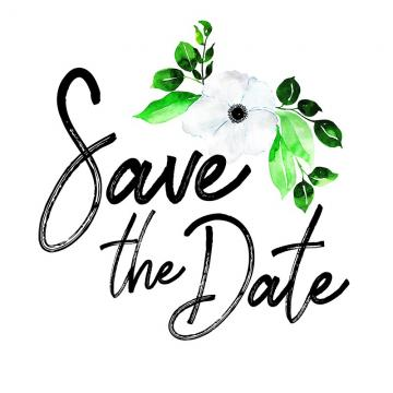 Save The Date PNG Images.