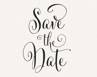 Save the date clipart free hostted 2.
