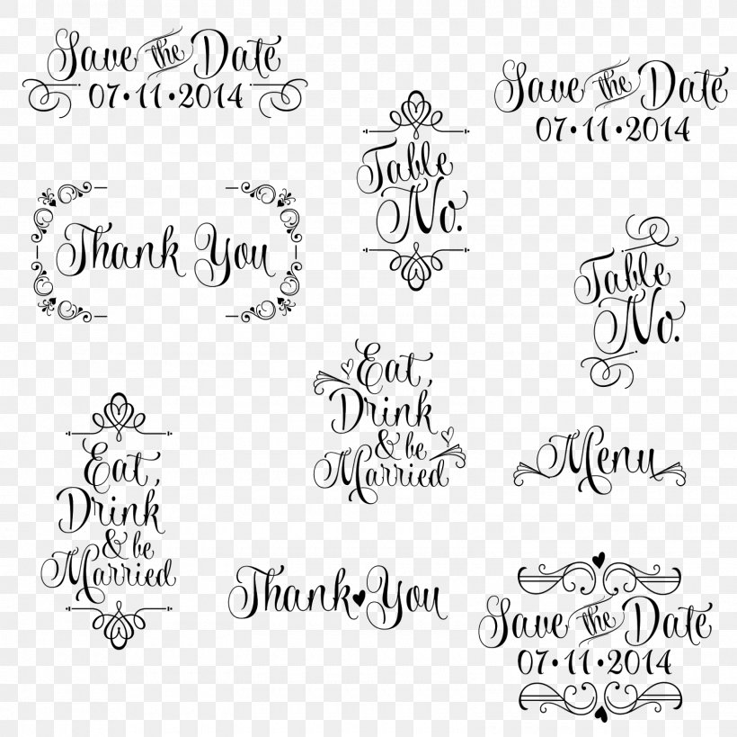 Wedding Invitation Save The Date Paper Clip Art, PNG.