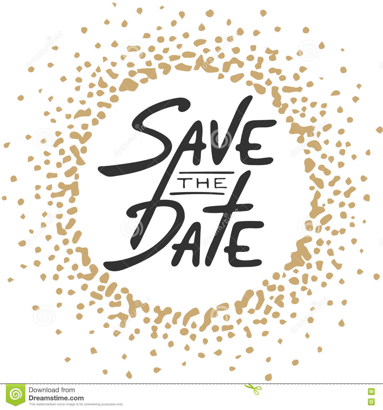 663 Save The Date free clipart.