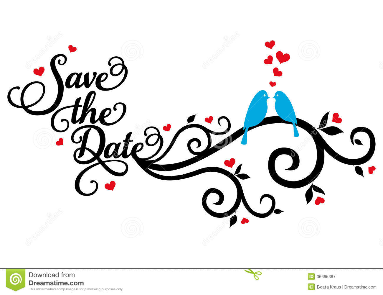 Save the date clipart 5 » Clipart Station.
