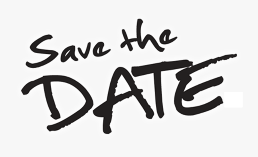 Save The Date Logo Transparent , Free Transparent Clipart.