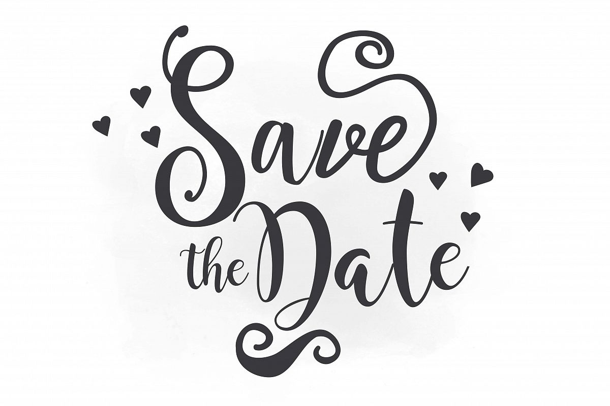 Save The Date Png & Free Save The Date.png Transparent.