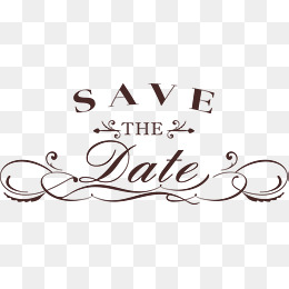 Save The Date PNG HD Transparent Save The Date HD.PNG Images.