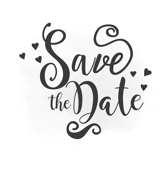 Download Free png Save the Date SVG clipart, we.