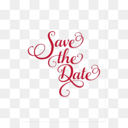 Free download Wedding Save The Date png..
