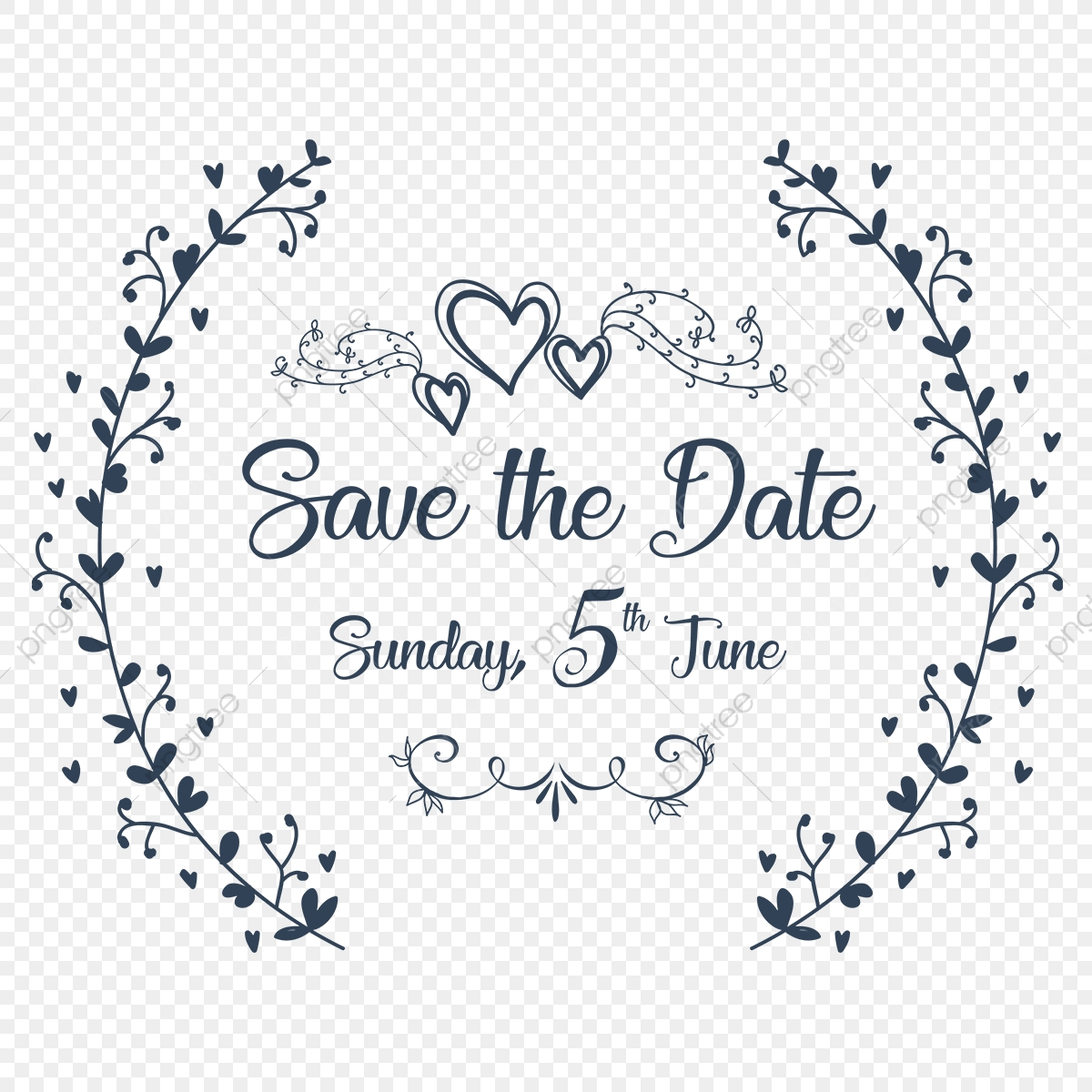 Save The Date Invitation Ornaments, Save The Date.