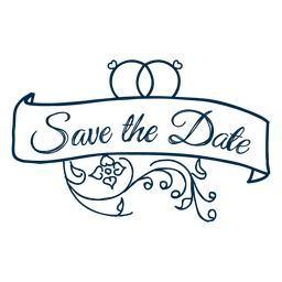 Save the date typography 2.