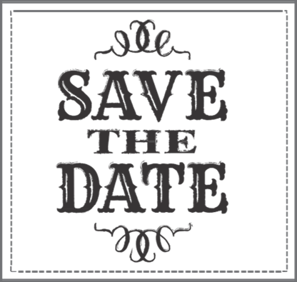 Save the Date Stamp 2.